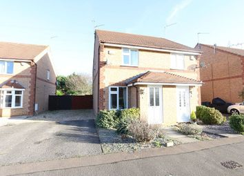 Thumbnail 2 bed semi-detached house for sale in Farriers Court, Orton Longueville, Peterborough, Cambridgeshire