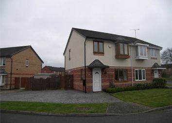 Thumbnail 3 bed semi-detached house for sale in Orkney Close, Sinfin, Derby