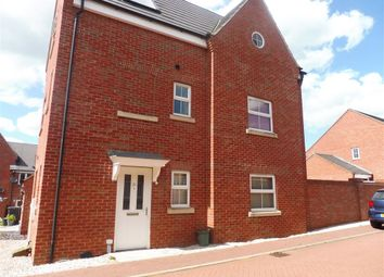 Thumbnail 4 bed town house for sale in Tweed Crescent, Rushden