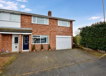 Thumbnail 4 bedroom semi-detached house for sale in Barton Close, Wigston, Leicester