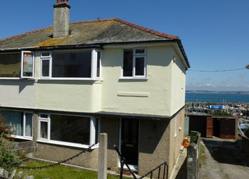 Thumbnail 3 bedroom semi-detached house for sale in Kenstella Road, Newlyn, Penzance