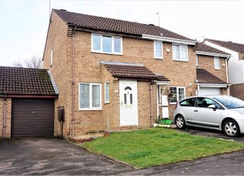 Thumbnail 2 bed semi-detached house for sale in Brake Close, Kingswood