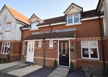 Thumbnail 2 bed terraced house for sale in Eckford Close, Hawkinge, Folkestone, Kent