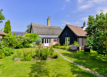 Thumbnail 3 bed cottage for sale in Woolpit, Bury St Edmunds, Suffolk