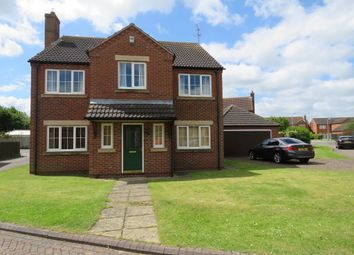 Thumbnail 4 bed detached house for sale in Manor Rise, Reepham, Lincoln