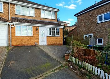Thumbnail 3 bed semi-detached house for sale in Magdalen Close, Dudley