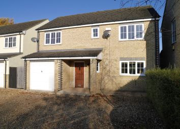 Thumbnail 4 bed detached house to rent in Downham Road, Nordelph