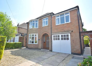 Thumbnail 4 bed detached house for sale in Mere Road, Wigston
