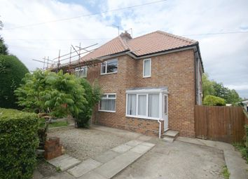 Thumbnail 3 bed semi-detached house for sale in Northfields, Strensall, York