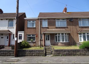 Thumbnail 5 bed semi-detached house for sale in St. Pauls Road, Port Talbot, Neath Port Talbot.