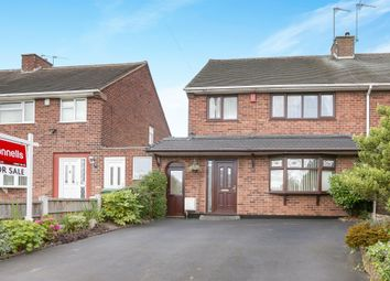Thumbnail 4 bedroom semi-detached house for sale in Blackwood Avenue, Wednesfield, Wolverhampton