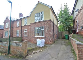 Thumbnail 3 bed town house to rent in Kildare Road, Nottingham