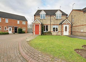 Thumbnail 2 bed semi-detached house for sale in St. Pancras Close, Dinnington, Sheffield