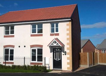 Thumbnail 2 bedroom semi-detached house for sale in Romanby Way, Hamilton, Leicester