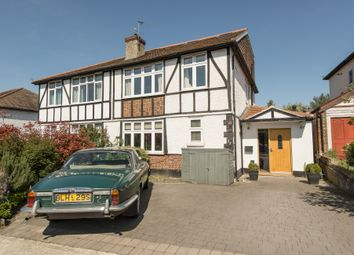 Thumbnail 6 bed semi-detached house for sale in The Ridings, Berrylands, Surbiton