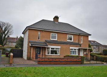 Thumbnail 3 bed semi-detached house for sale in 132 Dumbuck Road, Dumbarton