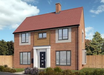 "Thumbnail 3 bed detached house for sale in ""The Clayton"" at Hayfield Way, Bishops Cleeve, Cheltenham"