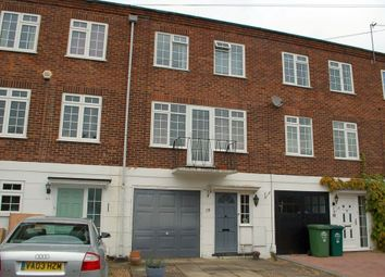 Thumbnail 4 bed town house for sale in Sunmead Road, Sunbury-On-Thames