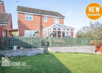 Thumbnail 4 bed detached house for sale in Alyn Road, Gwersyllt, Wrexham