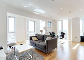 Thumbnail 2 bed flat for sale in Sky View Tower, Stratford