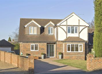 Thumbnail 4 bedroom detached house for sale in Park Lawn Road, Weybridge, Surrey