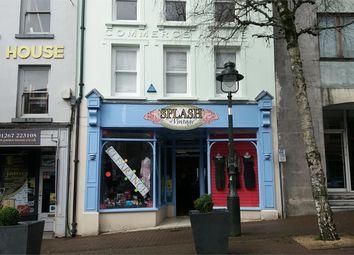 Thumbnail Retail premises to let in 3 Nott Square, Carmarthen, Carmarthen, Carmarthenshire