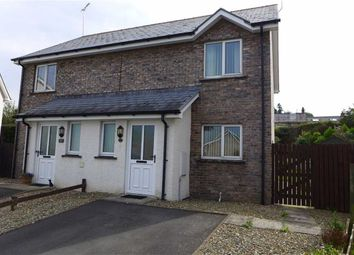Thumbnail 2 bed semi-detached house for sale in Dol Helyg, Aberystwyth, Ceredigion
