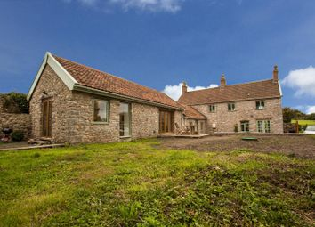 Thumbnail 4 bed detached house for sale in Stone-Edge Batch, Tickenham, Clevedon