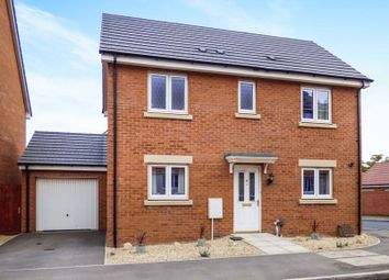 Thumbnail 3 bed detached house for sale in Mascroft Road, Trowbridge