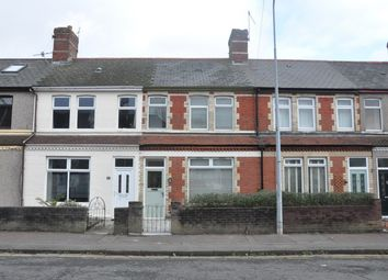 Thumbnail 3 bed terraced house for sale in Clive Road, Cardiff