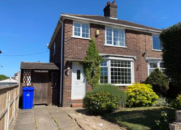 Thumbnail 3 bed semi-detached house for sale in Bailey Road, Blurton, Stoke-On-Trent, Staffordshire
