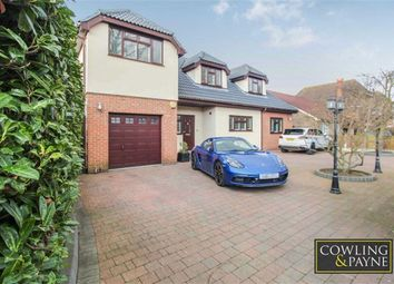 Thumbnail 4 bed detached house for sale in Branksome Avenue, Stanford- Le-Hope, Essex