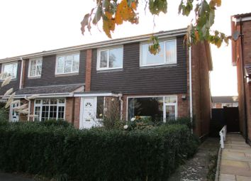 Thumbnail 3 bed semi-detached house for sale in Bridge Way, Whetstone, Leicester