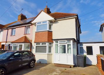 Thumbnail 3 bed semi-detached house for sale in Colwood Crescent, Eastbourne
