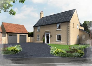 Thumbnail 5 bed detached house for sale in Plot 25, Hill Place, Brington, Huntingdon