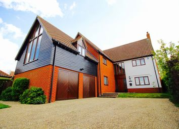 Thumbnail 4 bed detached house for sale in Silver Street, Besthorpe, Attleborough