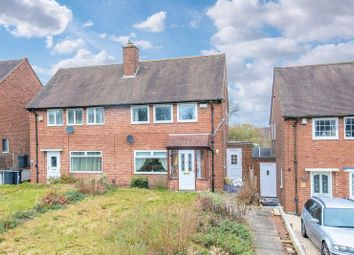 Thumbnail 2 bed semi-detached house for sale in Field Lane, Bartley Green, Birmingham