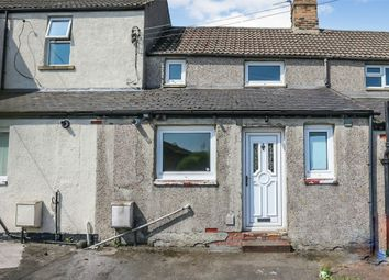 Thumbnail 2 bed terraced house for sale in Stone Row, North Broomhill, Morpeth, Northumberland