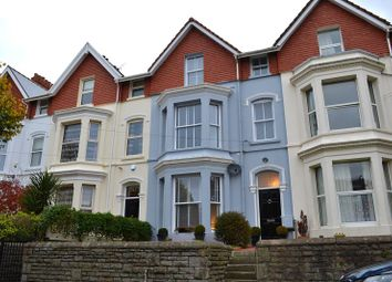 Thumbnail 6 bed terraced house for sale in Eaton Crescent, Uplands, Swansea.