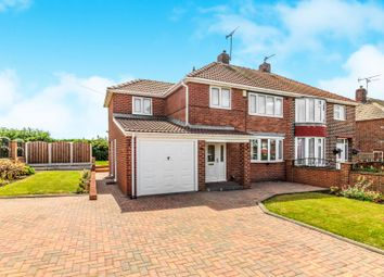 Thumbnail 4 bed semi-detached house for sale in Lathe Road, Whiston, Rotherham