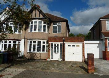 Thumbnail 3 bed semi-detached house for sale in Kenton Park Crescent, Kenton