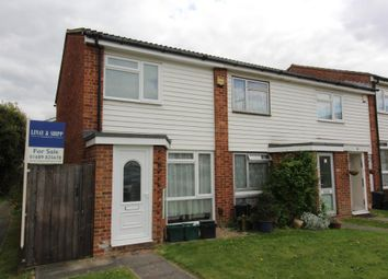 Thumbnail 2 bedroom end terrace house for sale in Killewarren Way, Orpington, Kent