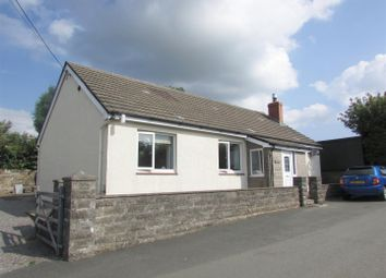 Thumbnail 3 bedroom detached bungalow for sale in Hafod Lon, Penffordd, Clynderwen