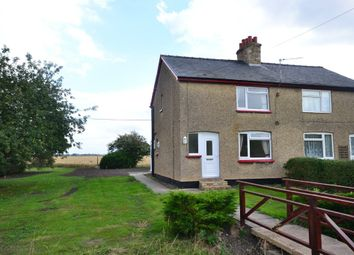 Thumbnail 2 bedroom semi-detached house to rent in Hundred Foot Bank, Pymoor, Ely