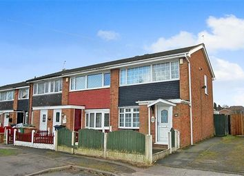 Thumbnail 3 bedroom terraced house for sale in Dartmouth Close, Bloxwich, Walsall