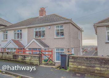 Thumbnail 3 bed semi-detached house for sale in Milton Road, Newport