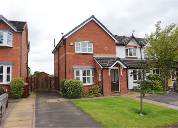 Thumbnail 3 bedroom semi-detached house for sale in Marston Close, Manchester