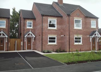 Thumbnail 2 bedroom semi-detached house to rent in Elms Road, Coton-In-The-Elms, Swadlincote