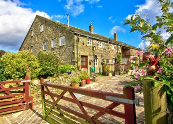 Thumbnail 3 bed farmhouse for sale in Extwistle Road, Worsthorne, Burnley