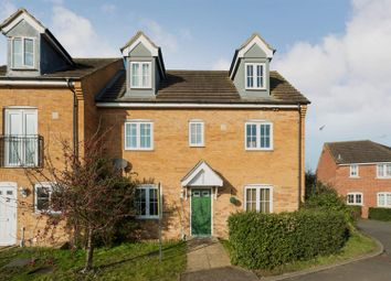 Thumbnail 4 bed semi-detached house for sale in Redshank Way, Hampton Vale, Peterborough